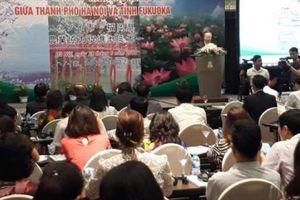 Hà Nội xúc tiến đầu tư về nông nghiệp với tỉnh Fukuoka (Nhật Bản)