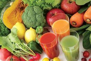 Chế độ ăn kiêng bằng thực phẩm sạch