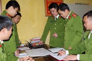 Lính hình sự ở địa bàn cơ sở