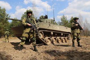 Tập trận Slavic Brotherhood: Nga phô diễn sức mạnh dàn vũ khí 'khủng'