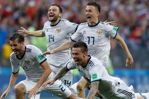 World Cup 2018: Đội tuyển Nga được chào đón nồng nhiệt ở Sochi