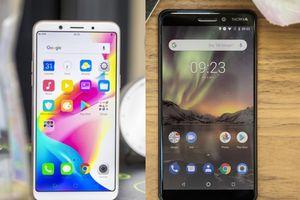 Nên mua Nokia 6 2018 hay Oppo F5?