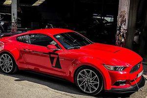 Tay chơi Nha Trang độ Ford Mustang lực lưỡng hơn
