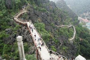 Để doanh nghiệp xây cầu xuyên lõi di sản Tràng An, huyện chỉ xin rút kinh nghiệm