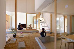 Bên trong một ngôi nhà khối hộp ở Nhật