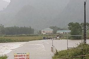 Nhà máy Thủy điện Khe Bố ở Nghệ An thông báo xả lũ