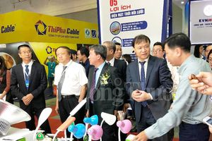 Khai mạc triển lãm quốc tế Vietnam ETE và Enertec Expo 2018