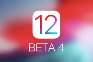 Apple phát hành iOS 12 Beta 4 cùng một loạt… lỗi mới