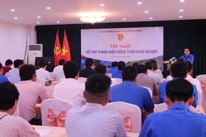 Hỗ trợ kiến thức khởi nghiệp cho thanh niên vùng nông thôn