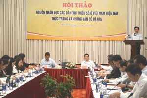 Quan tâm giải quyết vấn đề nguồn nhân lực các dân tộc thiểu số Việt Nam