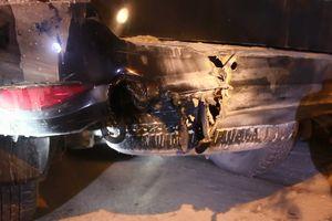 Chập điện, ô tô Toyota Fortune bốc cháy lúc rạng sáng