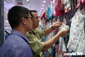 Kiểm tra hàng loạt cửa hàng của Cty Con Cưng