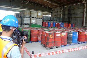Kiên Giang: Xử lý 45 tấn chất thải cực độc có khả năng gây ung thư cho con người