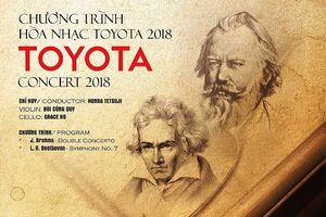 Hòa nhạc Toyota đến với khán thính giả TP.HCM và Hà Nội
