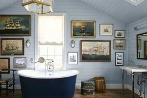 Những nhà tắm xanh mướt đẹp đến rung động tim can, ai cũng muốn sở hữu