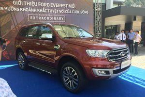 Ra mắt Ford Everest mới, giá từ 850 triệu đồng