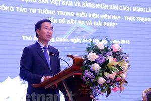 Khai mạc Hội thảo lý luận lần thứ 6 giữa Đảng Cộng sản Việt Nam và Đảng Nhân dân Cách mạng Lào
