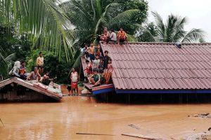 Vỡ đập thủy điện ở Lào không ảnh hưởng tới ĐBSCL