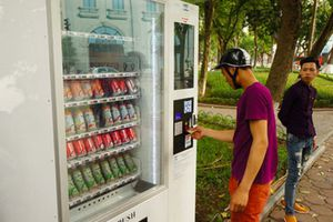 Hà Nội triển khai lắp đặt 1.000 máy bán hàng tự động
