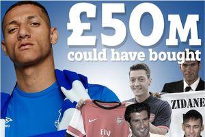 Neymar, Salah và 7 ngôi sao rẻ hơn tân binh Richarlison của Everton