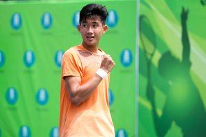 Nguyễn Văn Phương vào chung kết đơn nam quần vợt U.18 quốc tế TP.HCM