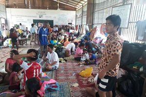 Vỡ đập thủy điện ở Lào: Hàng ngàn người bị nạn chen chúc trong các điểm tạm cư