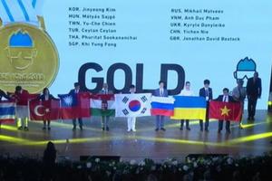4 thí sinh Việt Nam tham dự Olympic Hóa học đều giành huy chương