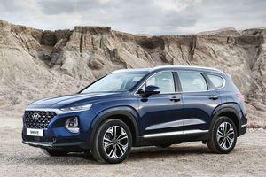 Chi tiết Hyundai Santa Fe 2019 - hiện đại và an toàn hơn