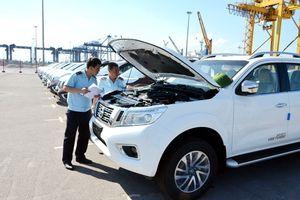 Tháng 7, lượng xe nhập giảm mạnh: Thị trường bão hòa?