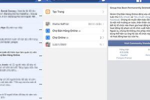 Kết bạn Facebook với người lạ bị khóa tài khoản không rõ lý do