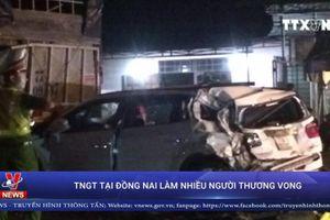 Tai nạn giao thông tại Đồng Nai làm hàng chục người thương vong
