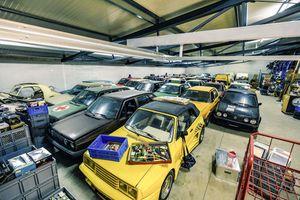 Người đàn ông sở hữu bộ sưu tập Volkswagen Golf lớn nhất thế giới