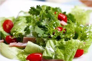 Những chú ý khi ăn rau sống để đảm bảo an toàn sức khỏe
