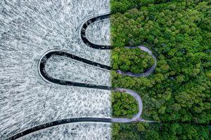'Mở rộng tầm mắt' với các bức ảnh siêu thực được chụp từ trên cao
