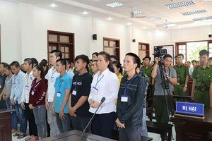 Xét xử 20 đối tượng gây rối ở Đồng Nai