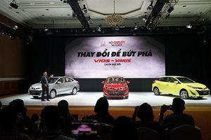 Toyota Việt Nam ra mắt Vios và Yaris 2018 giá từ 531 triệu