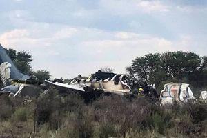 Máy bay rơi tại Mexico, hàng chục người bị thương