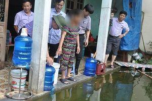 Cử cán bộ giám sát, hỗ trợ Chương Mỹ xử lý môi trường khi nước rút