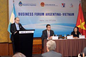 Việt Nam – Argentina: Tập trung đa dạng hóa lĩnh vực giao thương