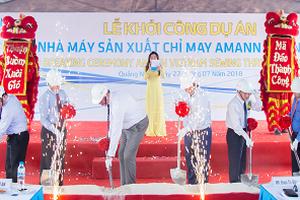 Khởi công Nhà máy sản xuất chỉ may Amann Việt Nam