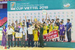 U11 SL.Nghệ An vô địch giải bóng đá nhi đồng toàn