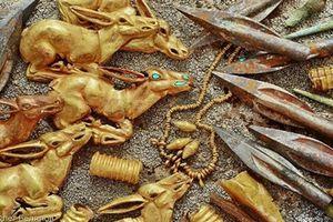 Tìm thấy cả kho vàng niên đại 2.800 năm