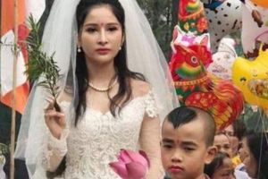 TT-Huế: Nhiều Sở lên tiếng vụ hình tượng Phật Quán Thế Âm mặc váy cưới