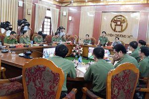 Lực lượng vũ trang hỗ trợ công tác hộ đê và bảo đảm an ninh trật tự
