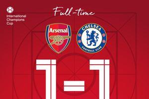 Chelsea thua Arsenal trên chấm 11m