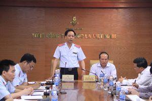 Công bố quyết định thanh tra tại Tổng Công ty Thuốc lá Việt Nam