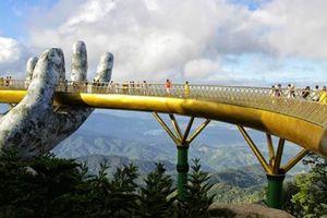 Cầu Vàng Bà Nà Hills: Lạc bước chốn tiên cảnh
