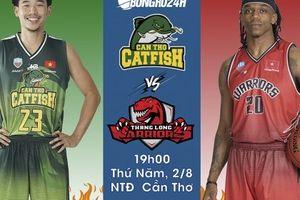 Cantho Catfish vs Thang Long Warriors(2/8): Giải mã Cá Basa, Các chiến binh giành tấm vé cuối?