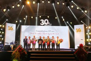 Tập đoàn Pháp B'Lao kỷ niệm 30 năm thành lập