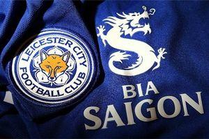 Bia Sài Gòn xuất hiện trên áo đấu câu lạc bộ giải Ngoại hạng Anh